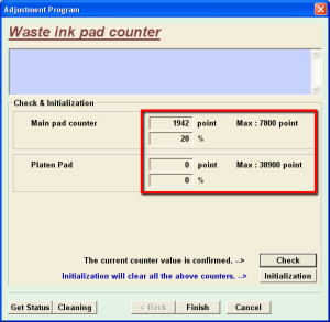 Cek Waste Ink Epson T11
